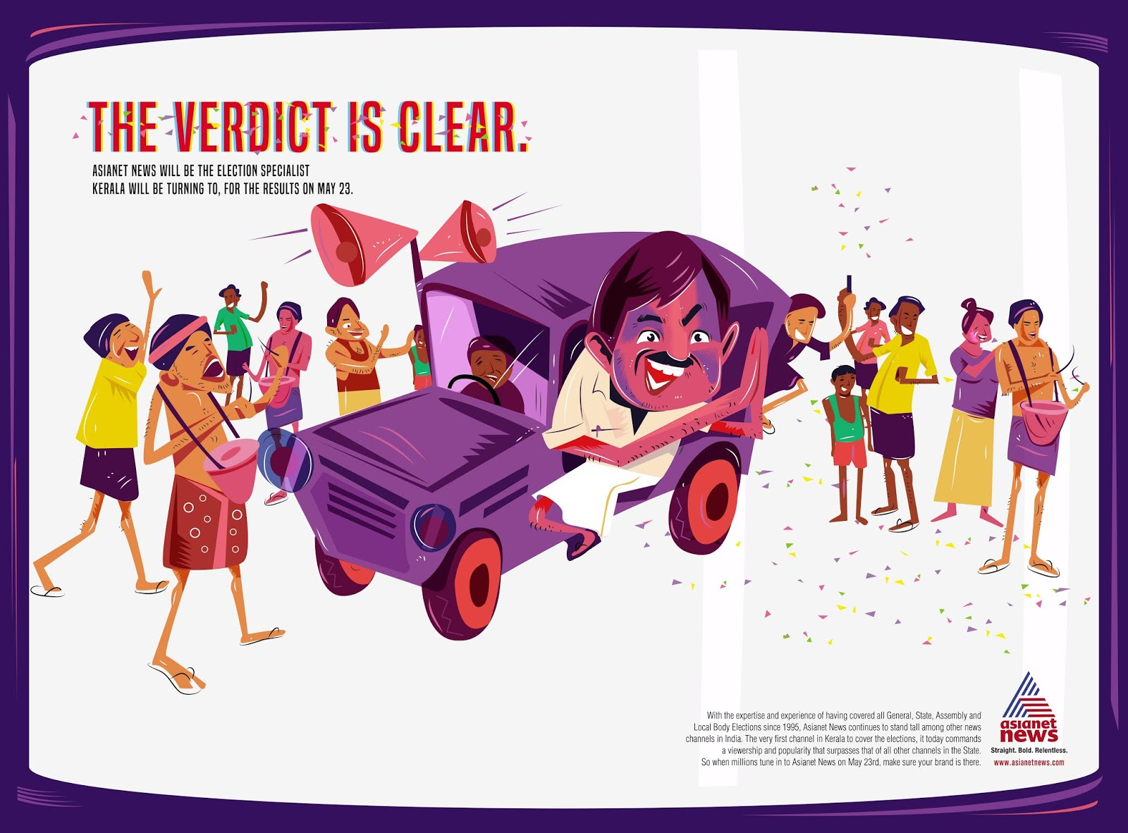 Malayala Manorama | The Verdict is Clear - Election Frenzy | Stark Communications Pvt Ltd