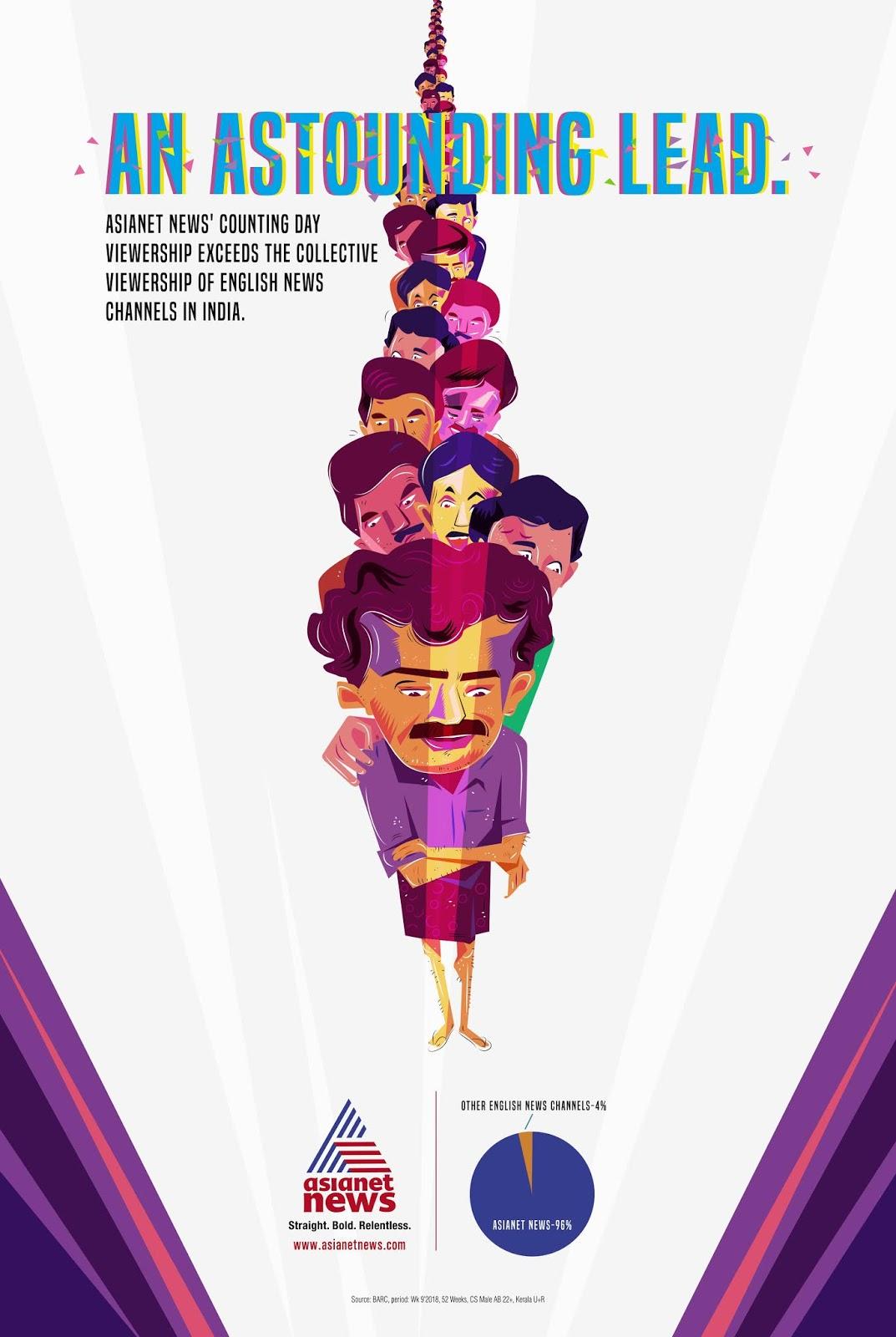 Malayala Manorama | An Astounding Lead - Election Frenzy | Stark Communications Pvt Ltd