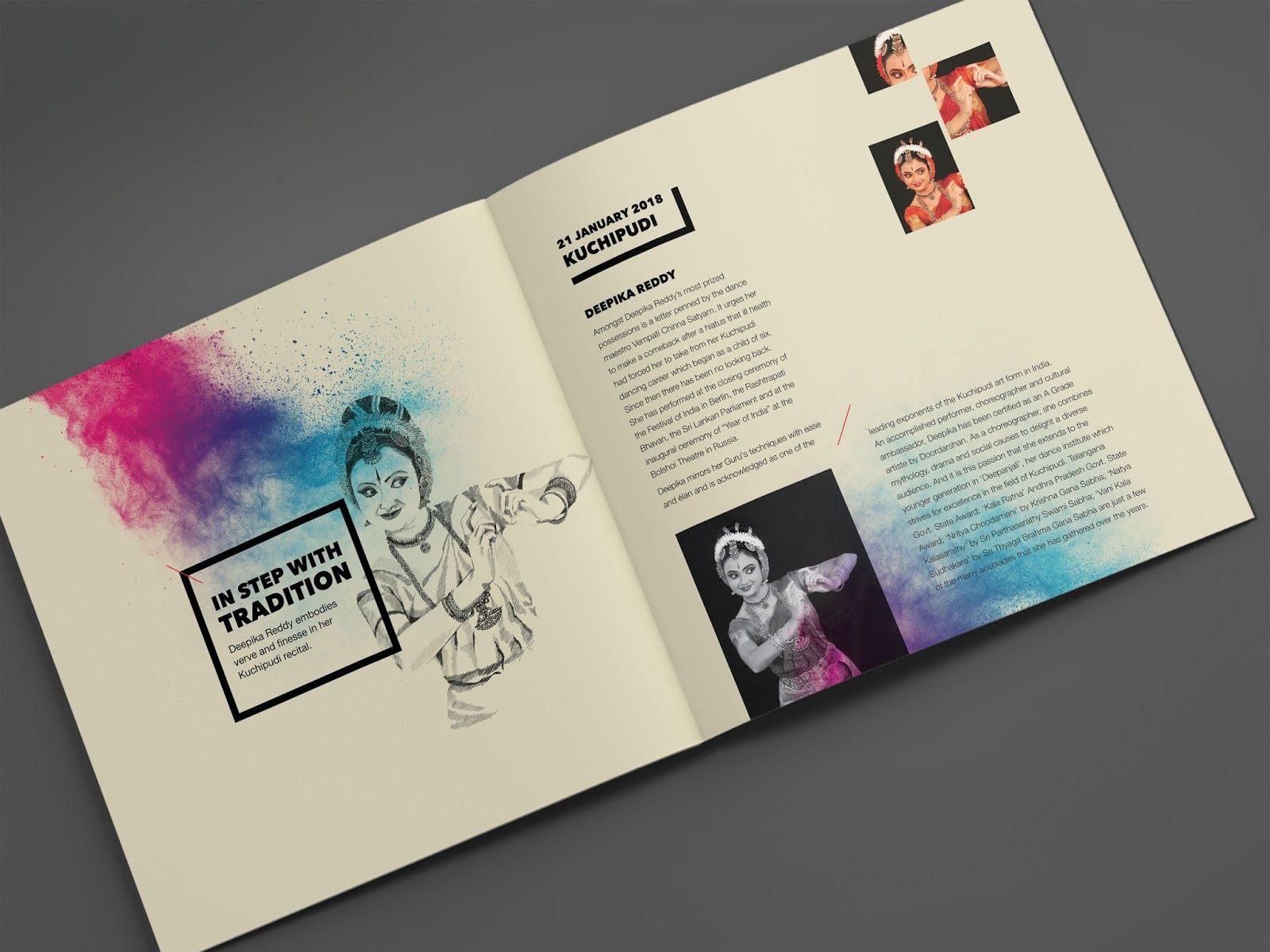 NishaGandhi Dance Festival January 2018   Brochure Mock-up - 4   Stark Communications Pvt Ltd