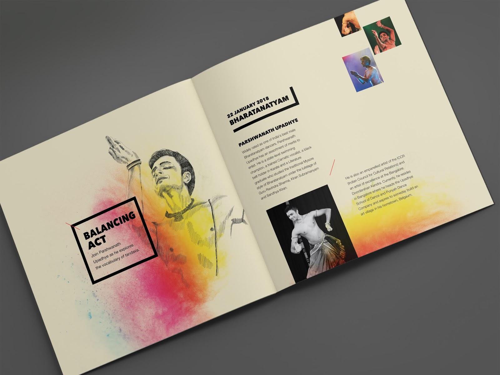NishaGandhi Dance Festival January 2018   Brochure Mock-up - 5   Stark Communications Pvt Ltd