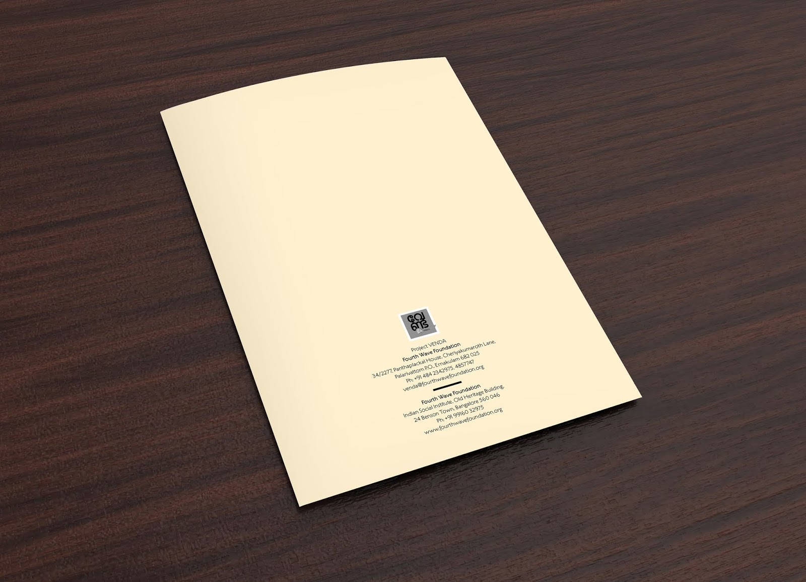 Project Venda - Fourth Wave Foundation | Brochure Mock-up -13 | Stark Communications Pvt Ltd