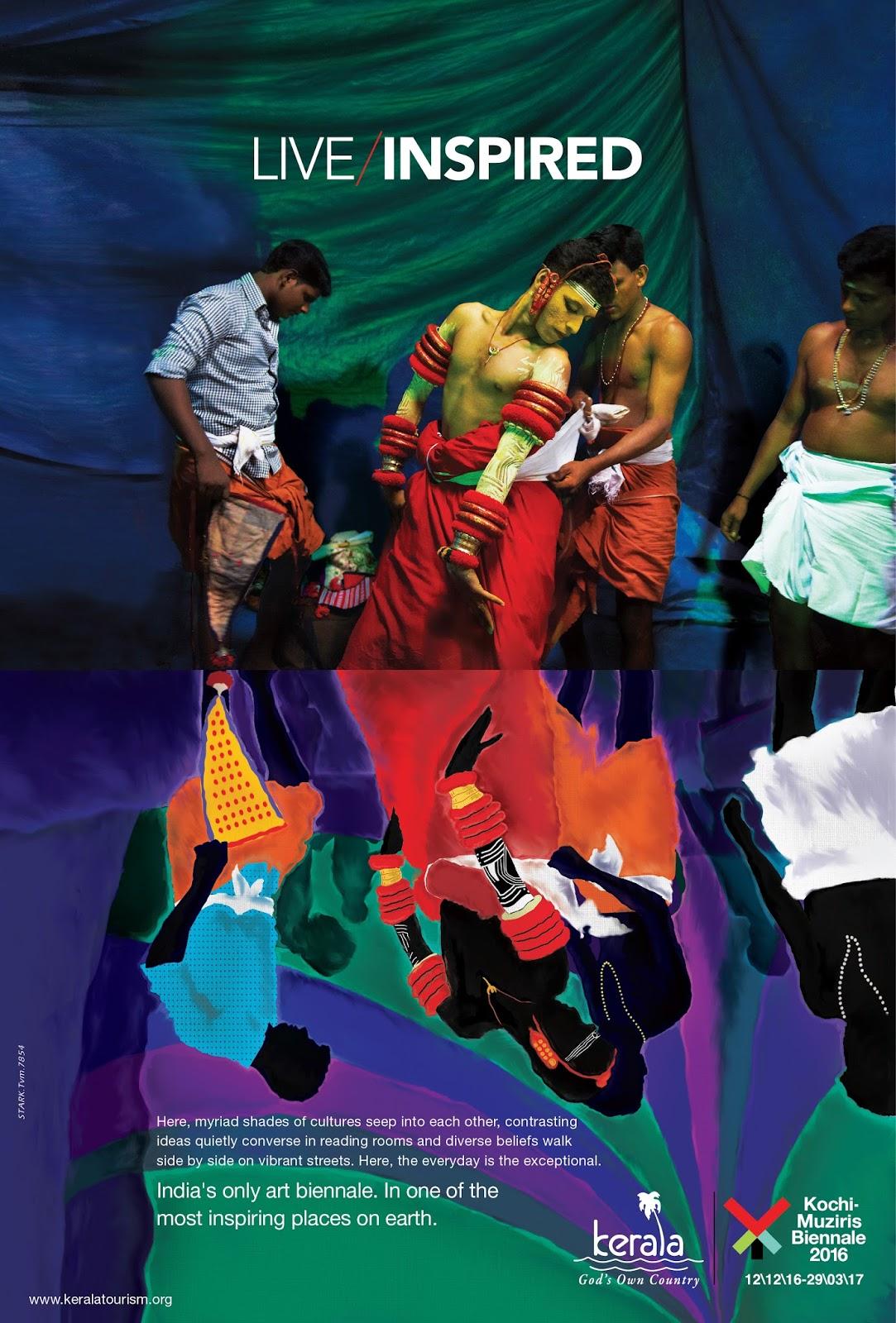 Live Inspired - Kochi - Muziris Biennale 2016 - 2 | Stark Communications Pvt Ltd