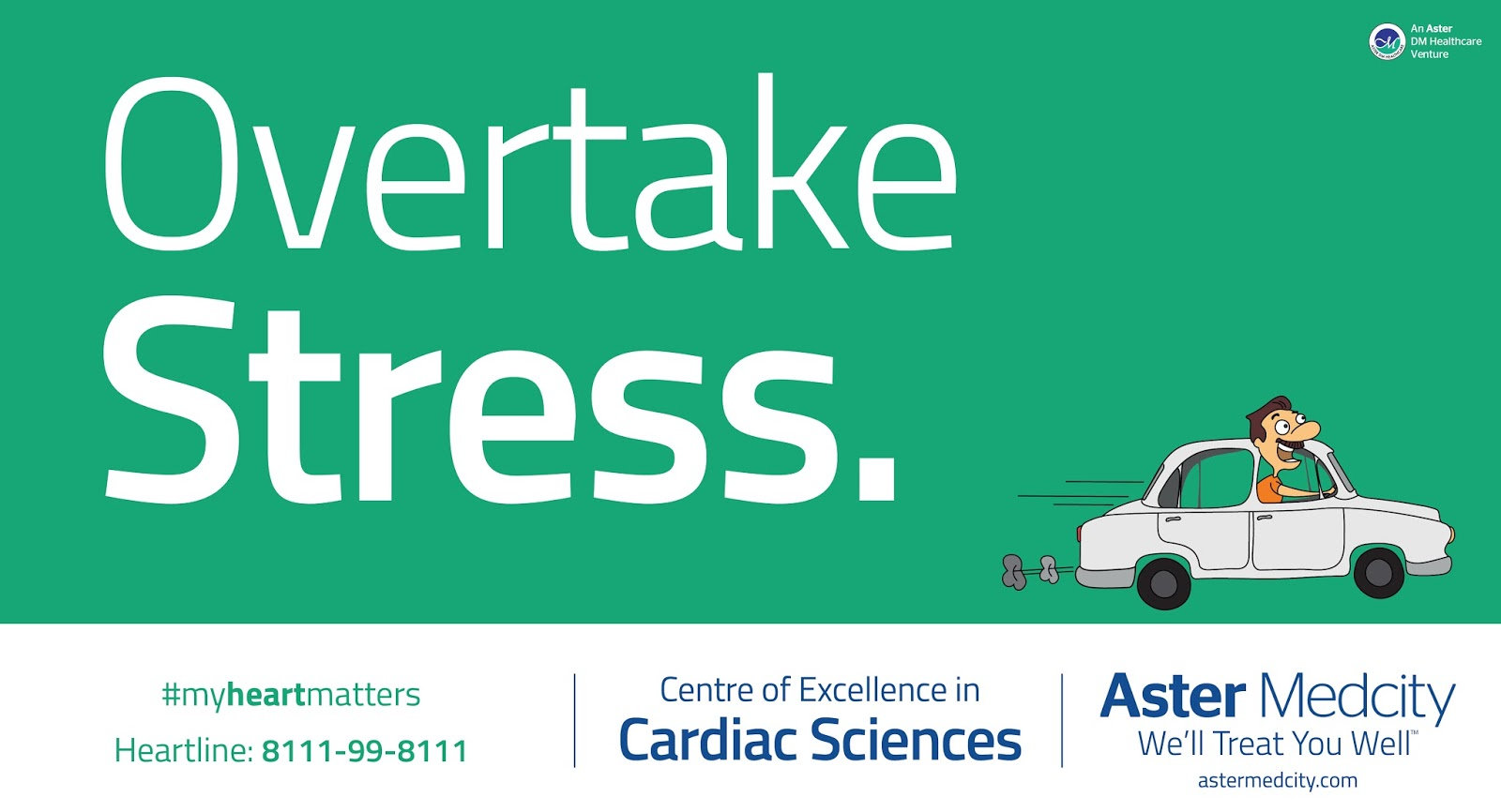 Aster Medcity - Centre of Excellance in Cardiac Science | Print mock-up 4 | Stark Communications Pvt Ltd