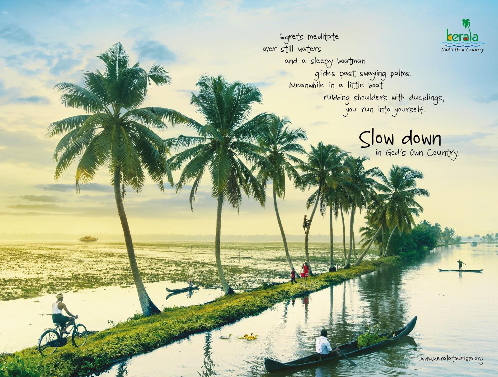 Kerala's New Market - Backwaters by Department of Tourism   Kerala Tourism   Stark Communications Pvt Ltd
