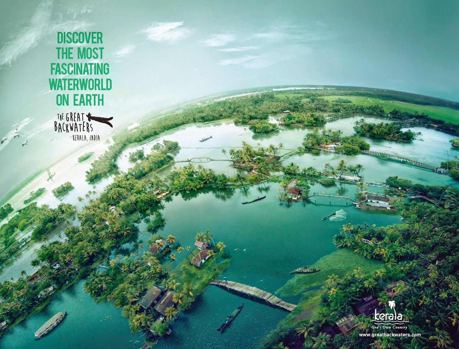 The Great Backwaters Campaign | Kerala Tourism | New Water World - Backwaters of Kerala 1 | Stark Communications Pvt Ltd