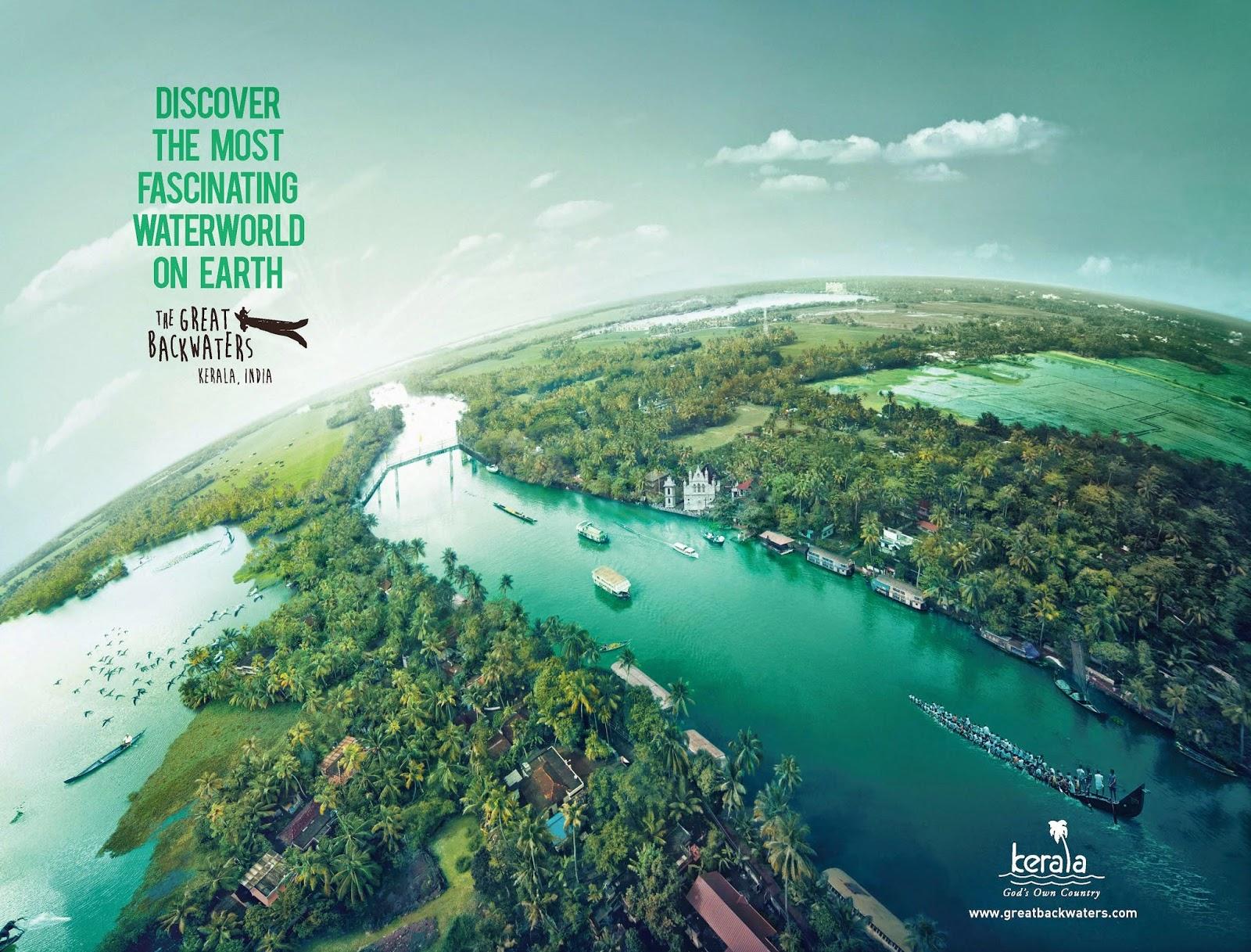 The Great Backwaters Campaign | Kerala Tourism | New Water World - Backwaters of Kerala 2 | Stark Communications Pvt Ltd