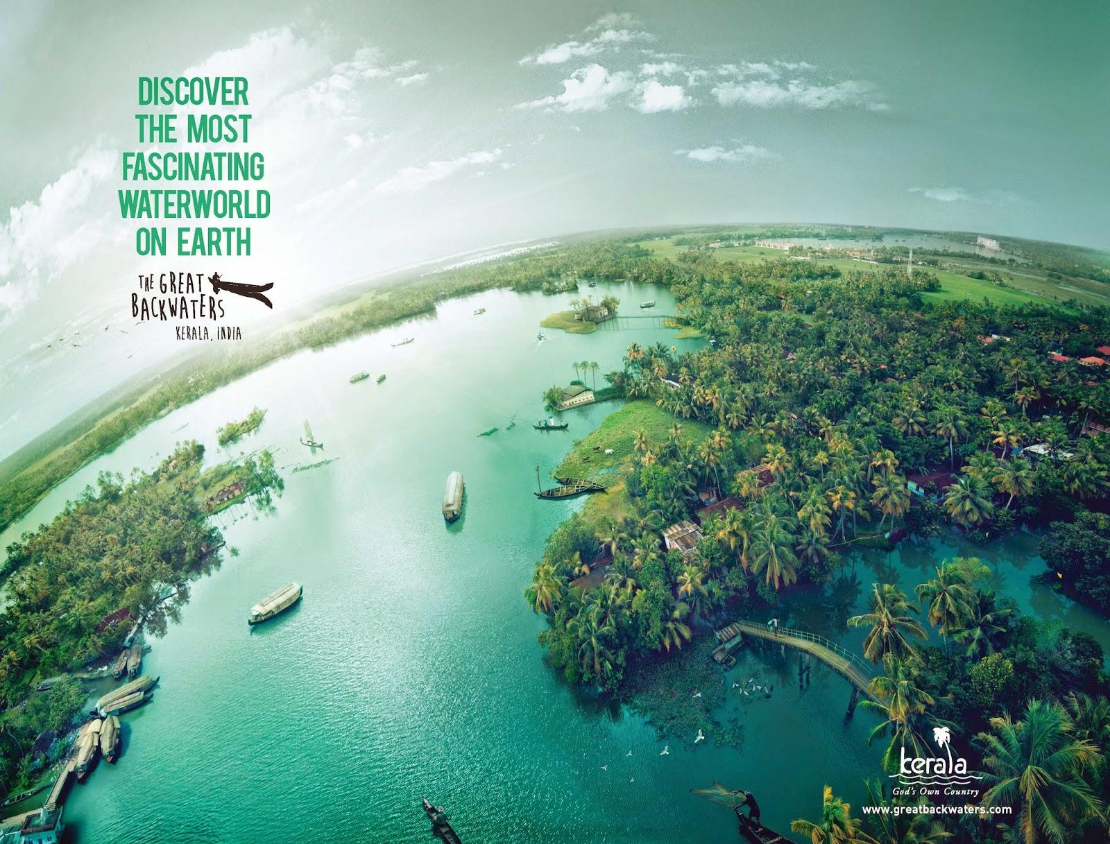The Great Backwaters Campaign | Kerala Tourism | New Water World - Backwaters of Kerala 3 | Stark Communications Pvt Ltd