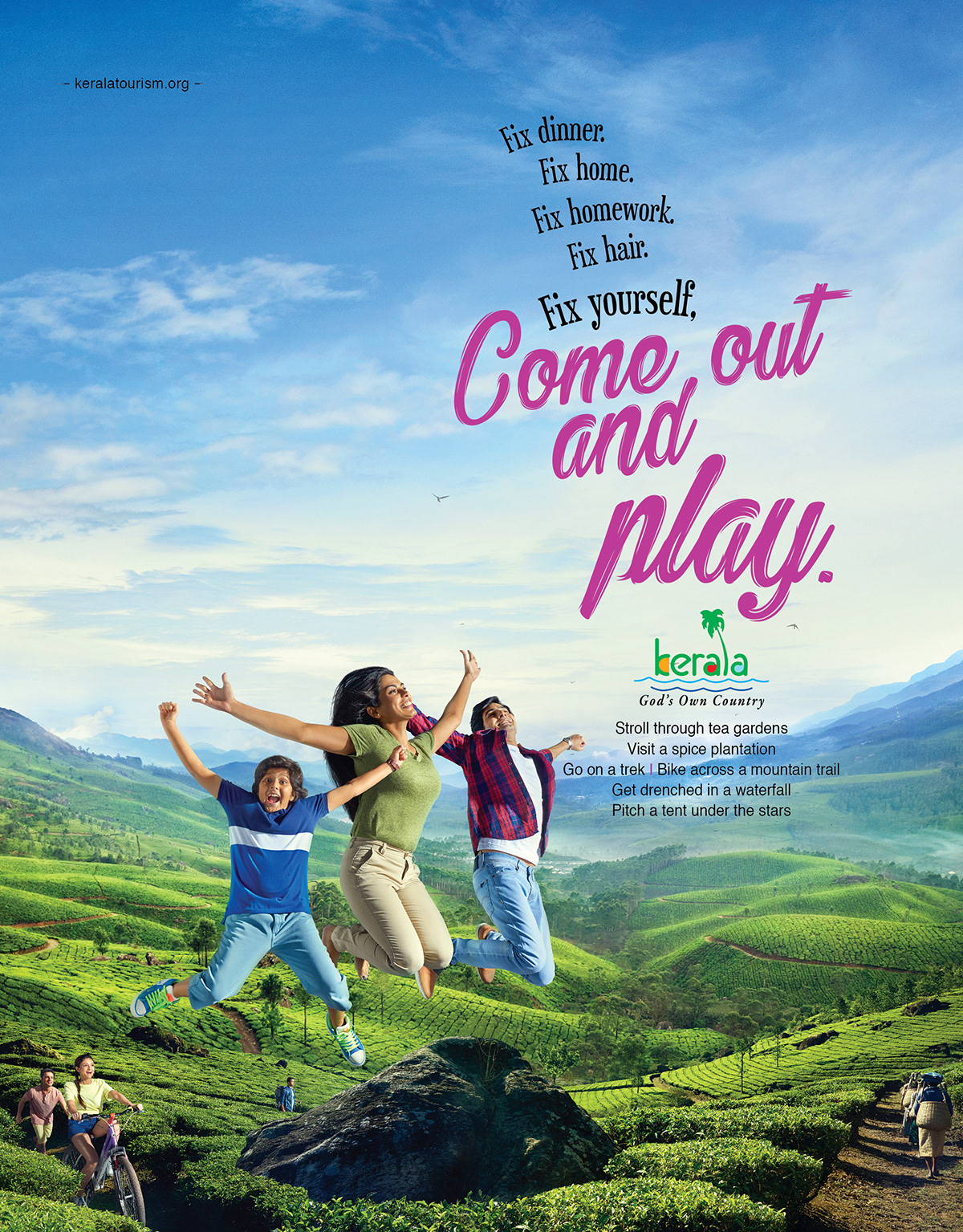 Kerala Tourism - Come out and Play 1 by Stark Communications Pvt Ltd