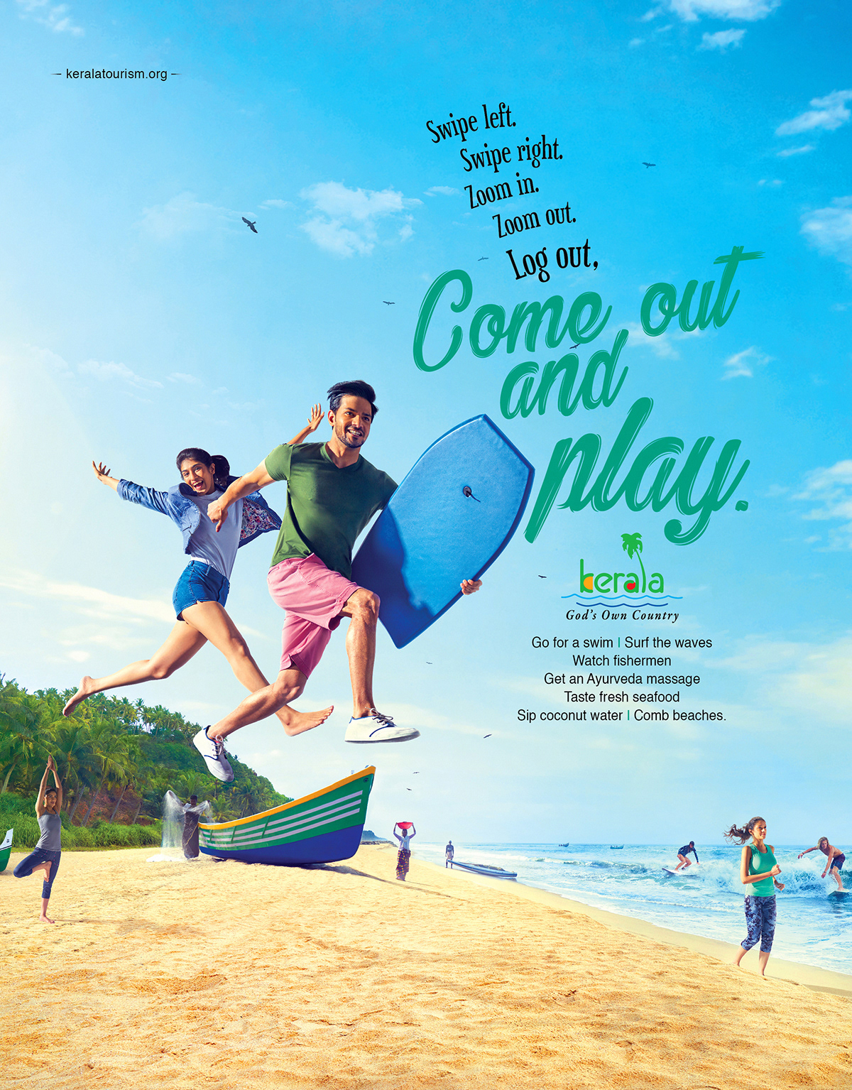 Kerala Tourism - Come out and Play 2 by Stark Communications Pvt Ltd