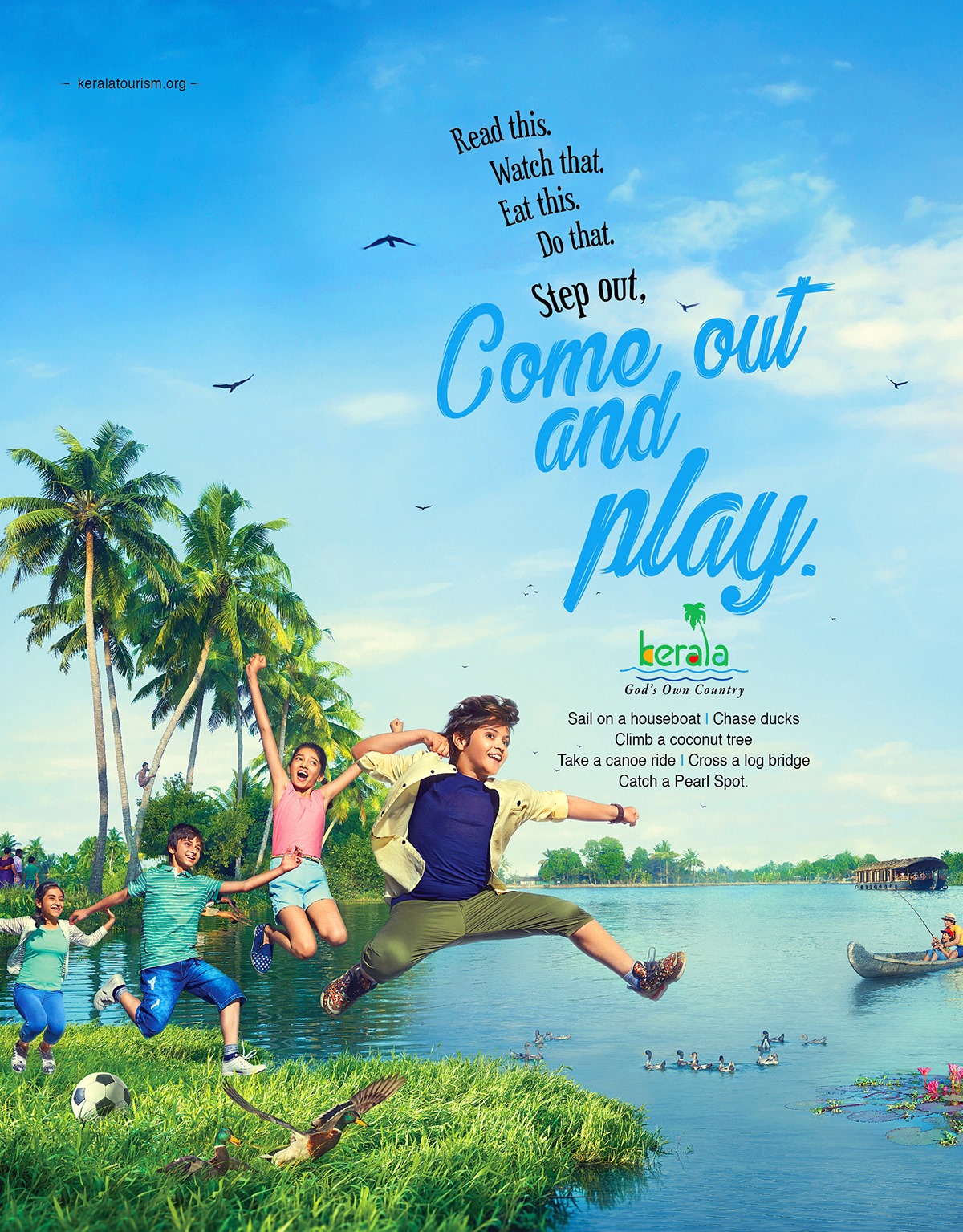 Kerala Tourism - Come out and Play 3 by Stark Communications Pvt Ltd
