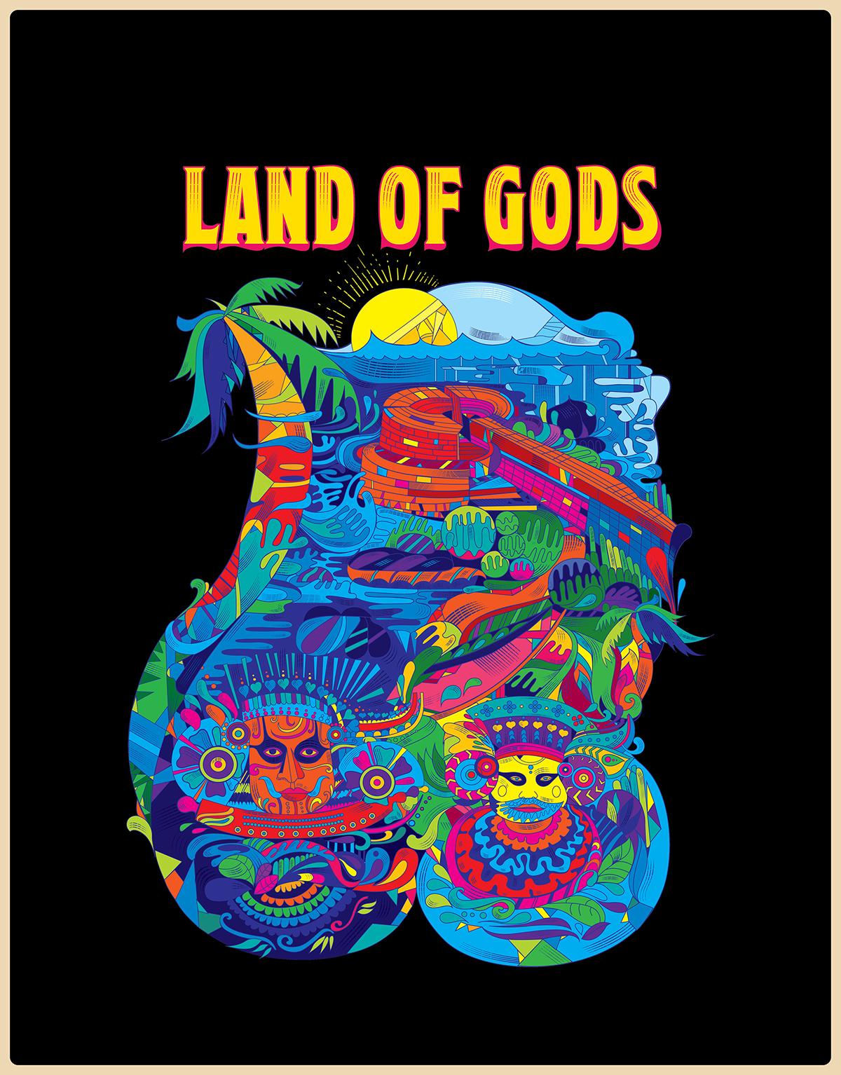 Kerala Blog Express - Trip of a Lifetime by Kerala Tourism   Land of Gods by Stark Communications Pvt Ltd
