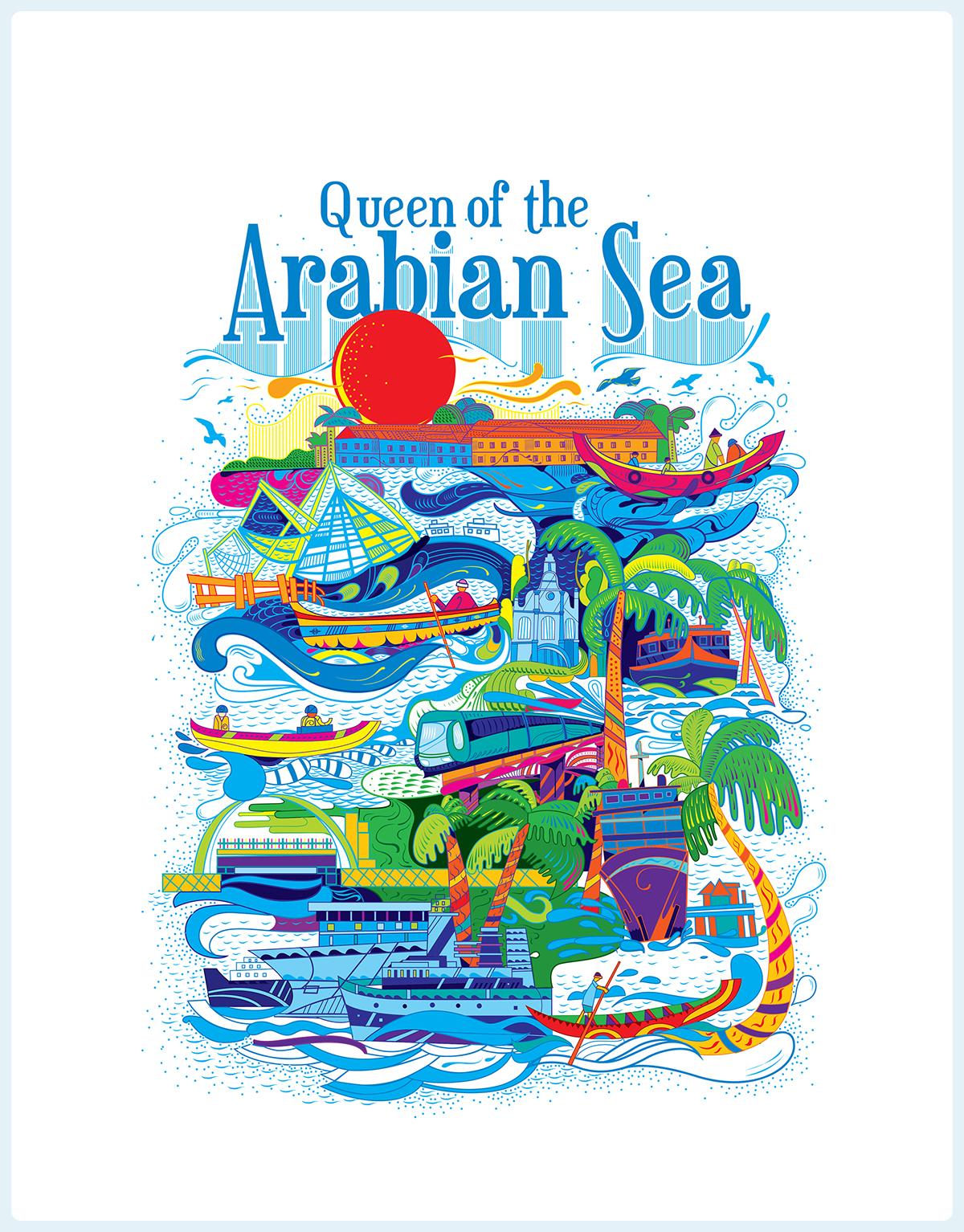 Kerala Blog Express - Trip of a Lifetime by Kerala Tourism   Queen of Arabian Sea by Stark Communications Pvt Ltd