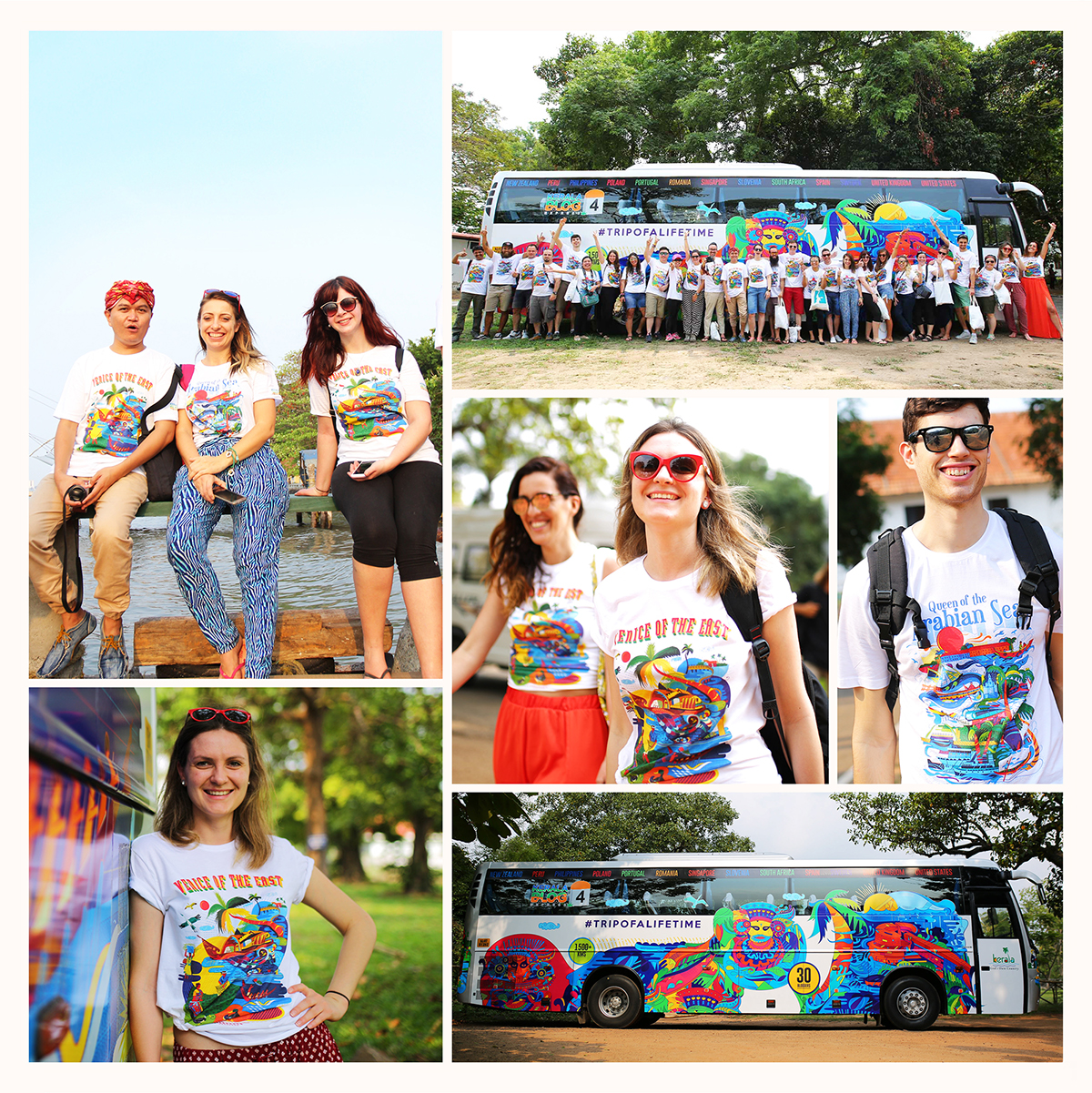 Kerala Blog Express - Team with Branding by Stark Communications Pvt Ltd